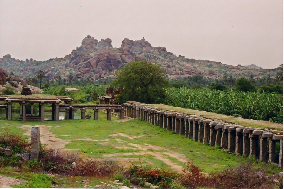 Hampi gebied, India