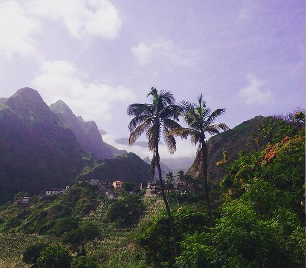 Het eiland Santo Antao