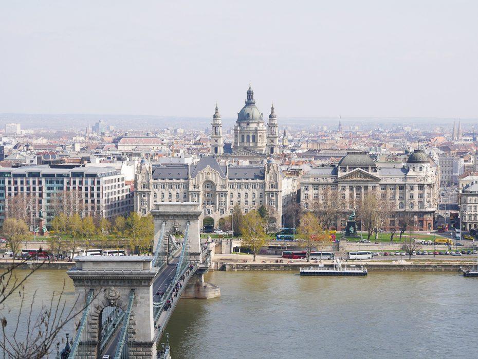 Het prachtige Boedapest in Hongarije