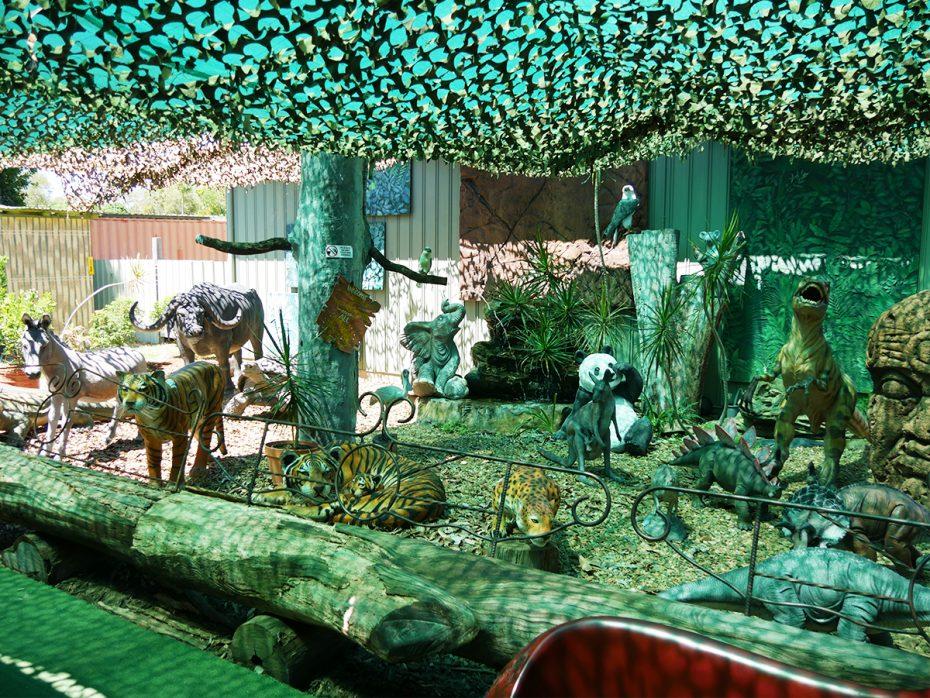 Dierenmuseum tijdens onze break