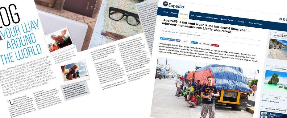 In de media - Reisblog Liefde voor Reizen