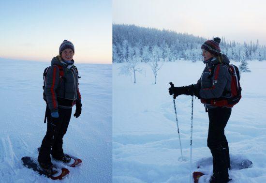 Marloes gaat op zoek naar het noorderlicht in Noord-Zweden
