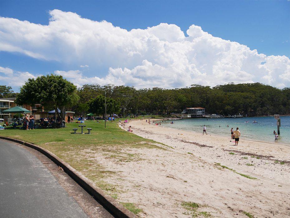 Prachtige plekje is Nelson Bay