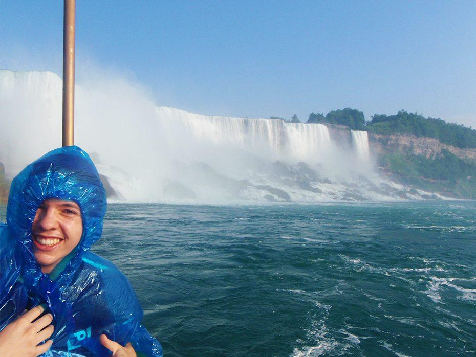 Foto voor de American Falls