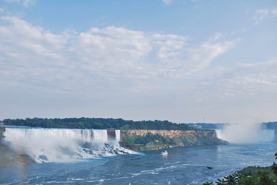 Overzicht van de watervallenOverzicht van de watervallen