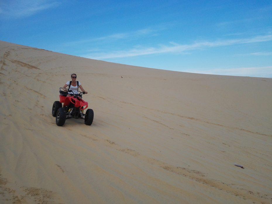 Prachtige zandduinen