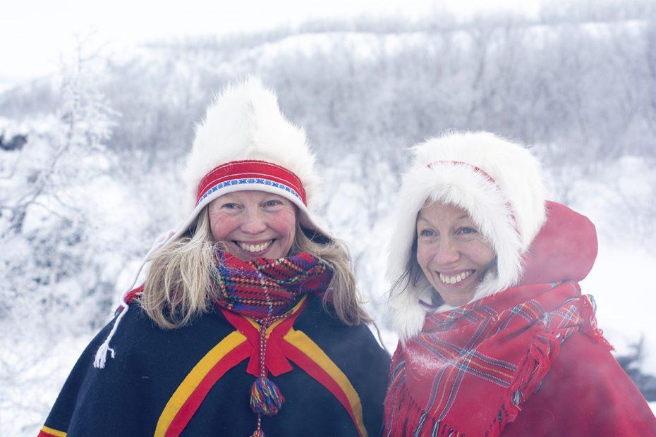 Sami vrouwen, Zweeds Lapland