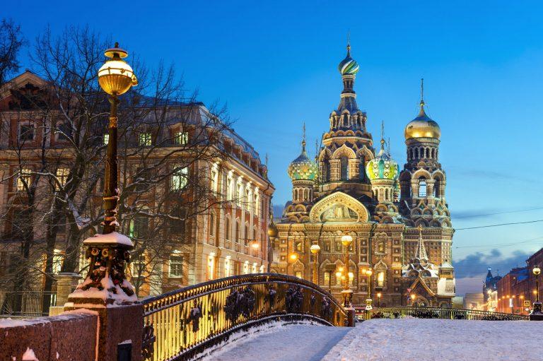 Stedentrip naar Sint Petersburg