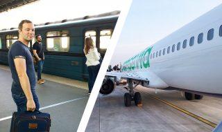 Treintickets vs vliegtickets - Wat is voordeliger?