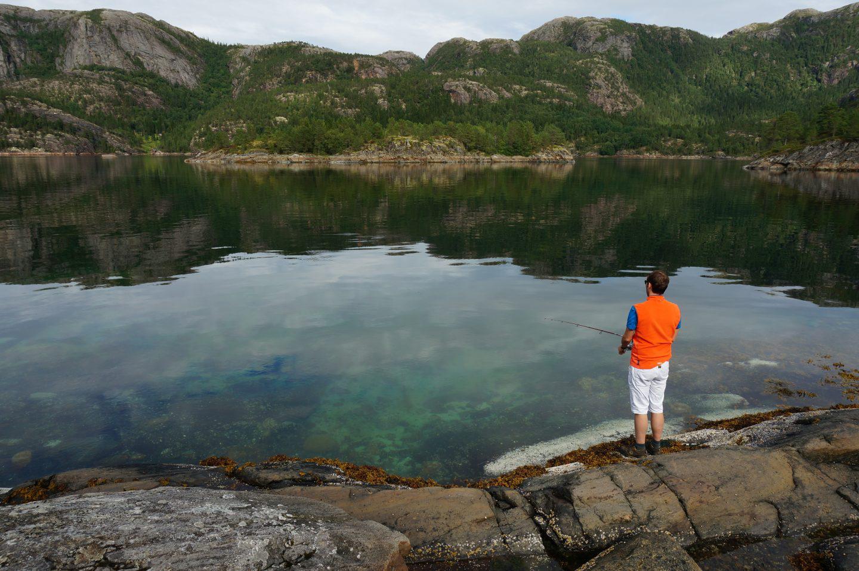 Vissen in Noorwegen