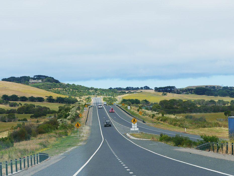 De weg naar Phillip Island