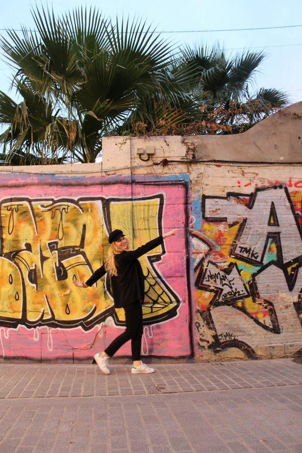 Streetart in de wijk El Carmen