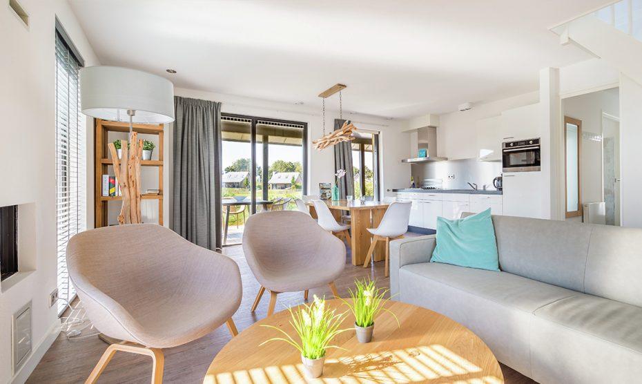 Winactie gespot: overnachten in Piet Boon ontworpen villa in Tholen