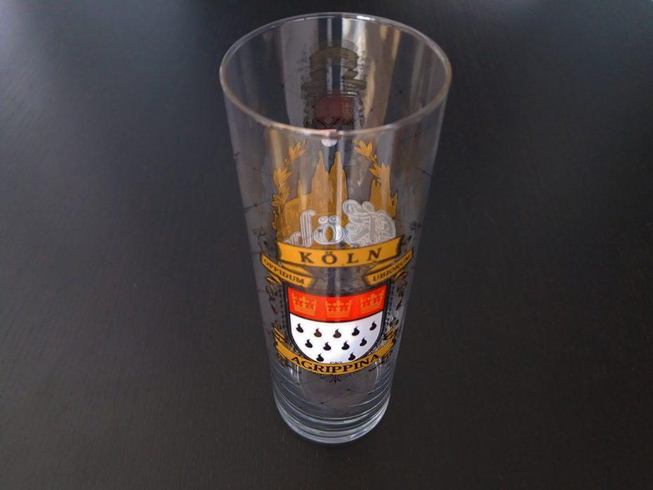 Een echt Kölsch bierglas