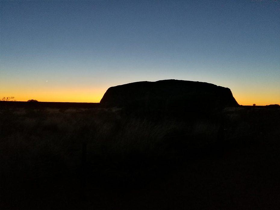 De Uluru, Australië