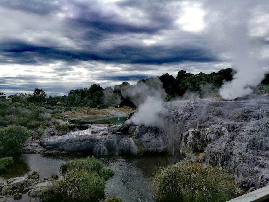 Te Puia is de grootste geiser van het zuidelijk halfrond