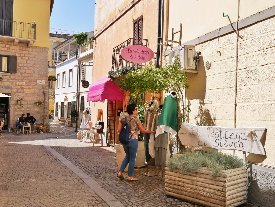 Leuke idyllische straatjes in Olbia