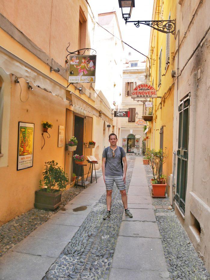 Leuk straatje in Sassari