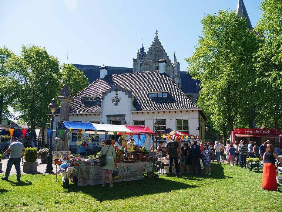 De Geraniummarkt in Wouw