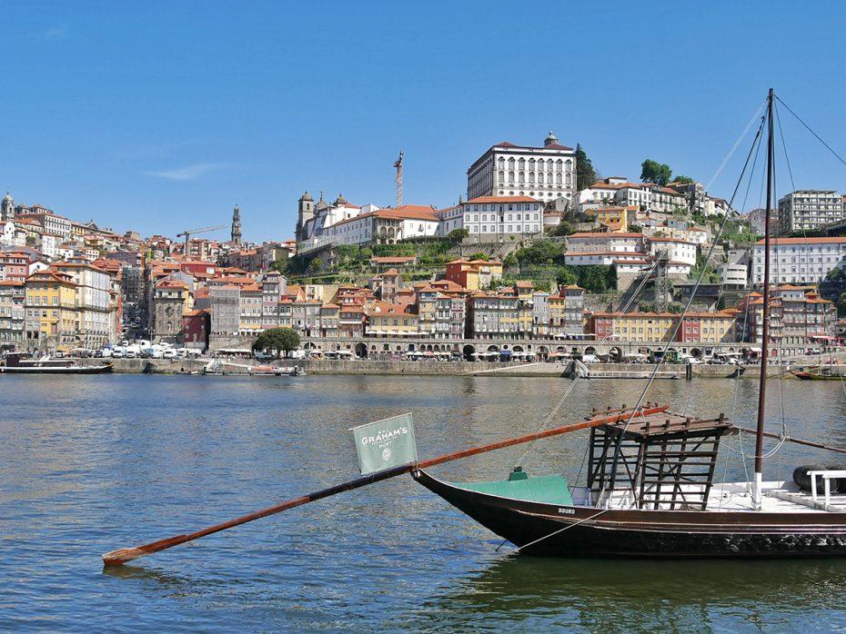 De haven van Porto