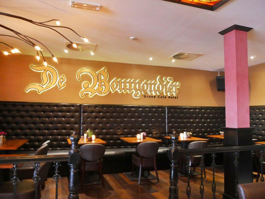 Het restaurant van De Bourgondiër