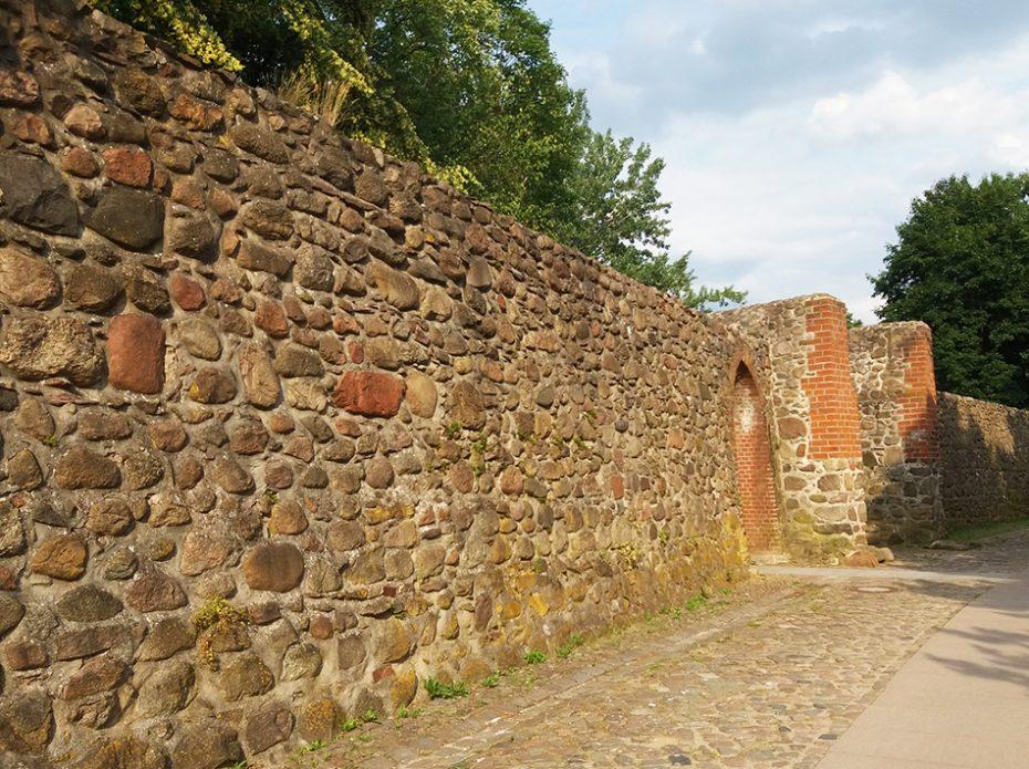 Historische stadsmuur