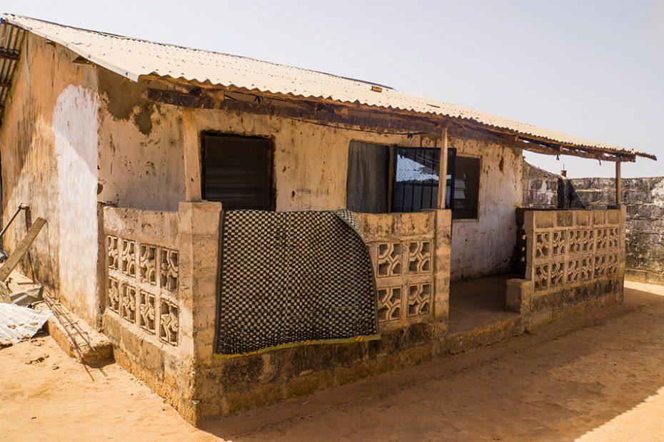 Dorpje in Gambia