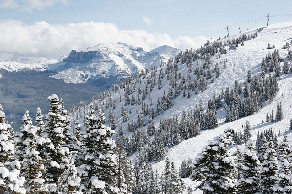 Marmot Basin uitzicht!
