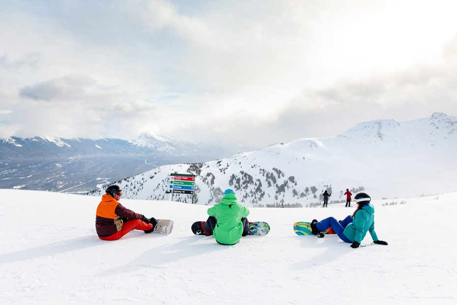 Snowboarden bij Marmot - Foto credits: Mike Seehagel