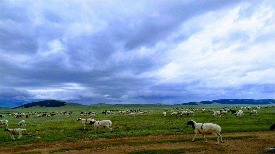 Prachtige landschappen in Mongolië