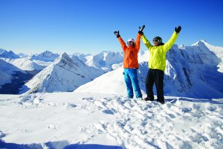 Wintersportplezier in Canada