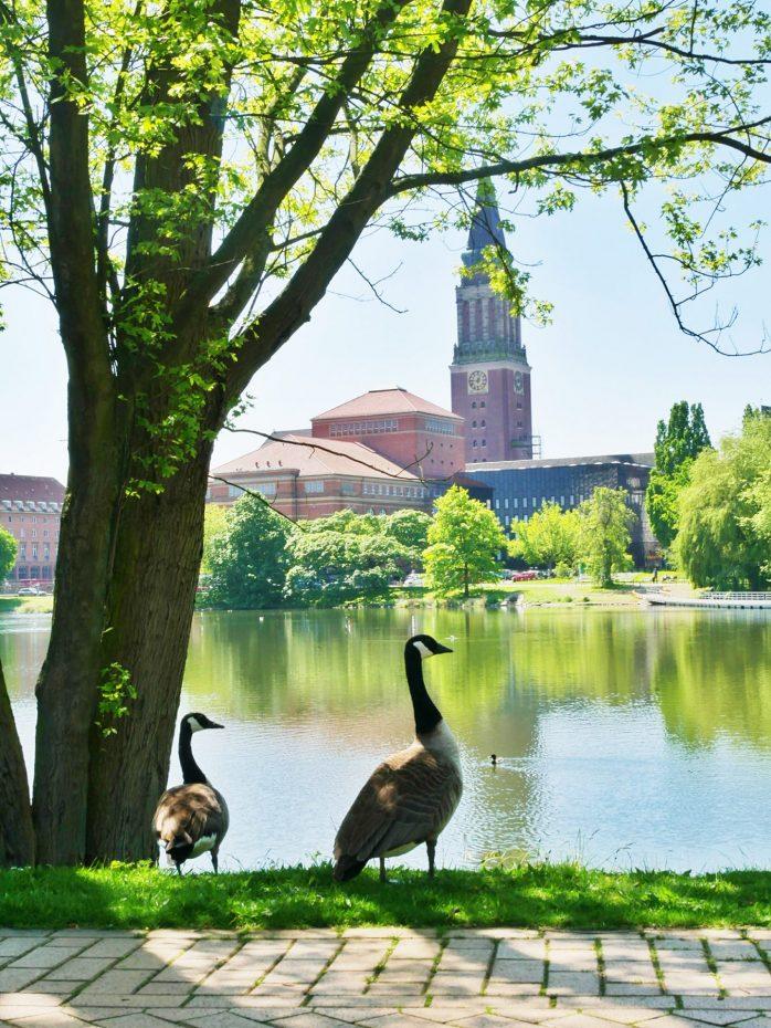 Hiroshimapark in Kiel