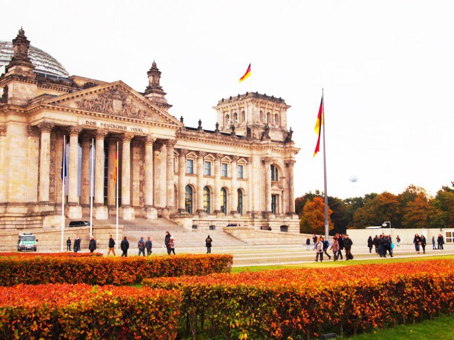 Rijksdaggebouw in Berlijn - Fietsen in Berlijn