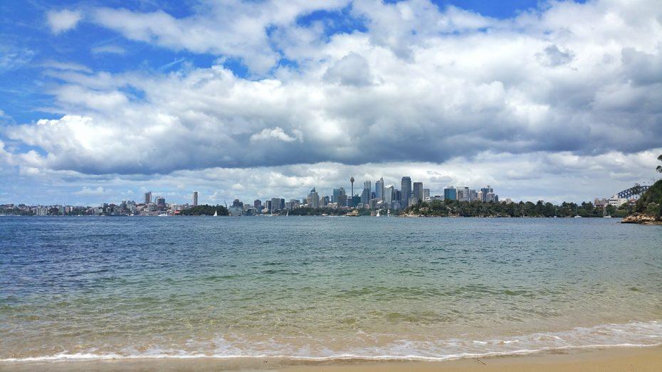 Privéstrandje in Noord-Sydney