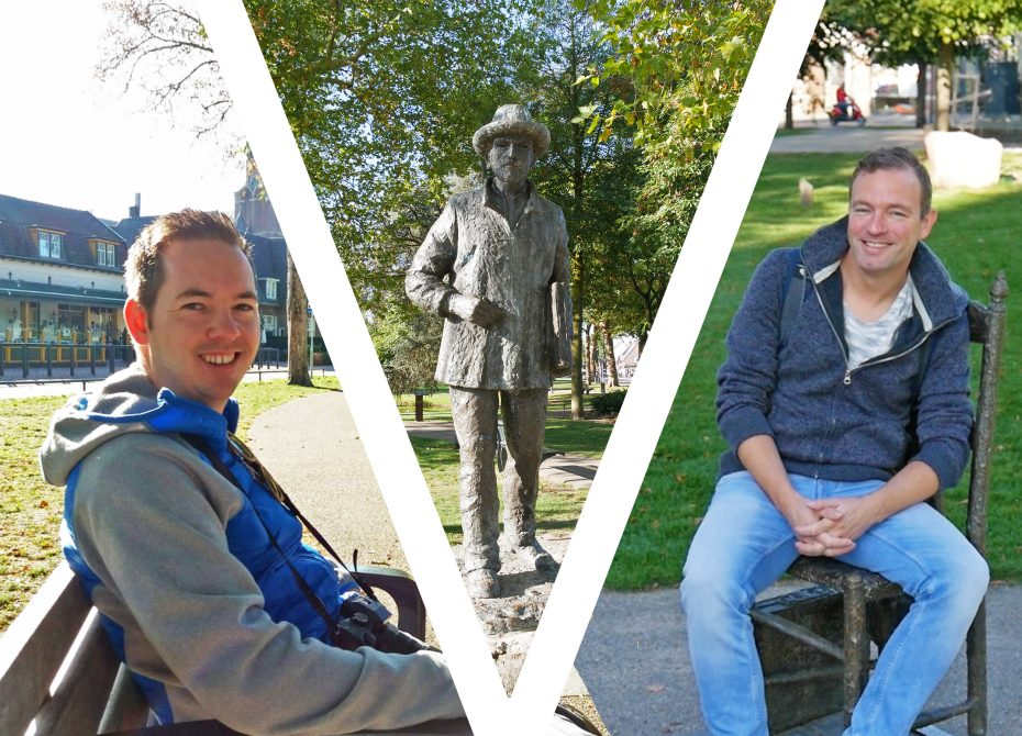 Jesper en Martin gaan terug in de tijd en duiken in het leven van Vincent van Gogh