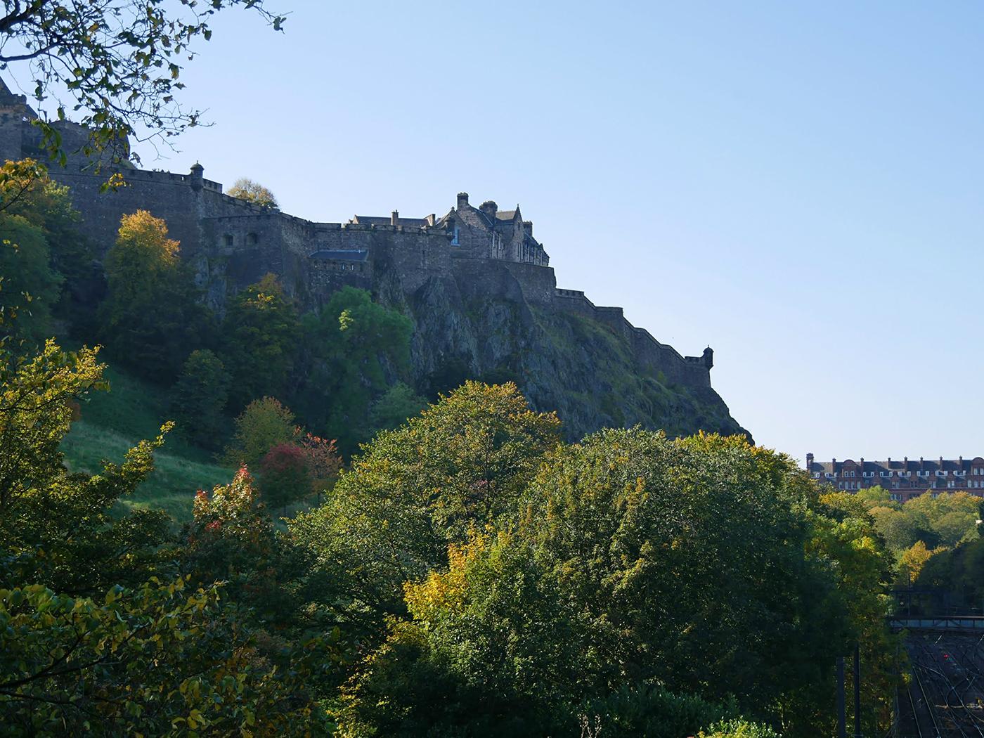 Het prachtige Edinburgh, prima te combineren met een roadtrip!