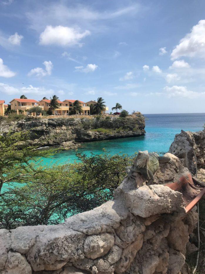 Uitzicht Playa Lagun - De verborgen parels van Curaçao