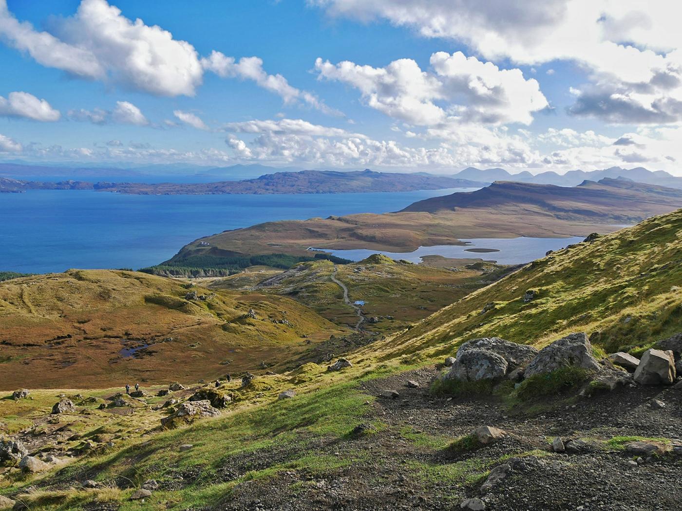 Adembenemend uitzicht vanaf The Storr - Isle of Skye, Schotland