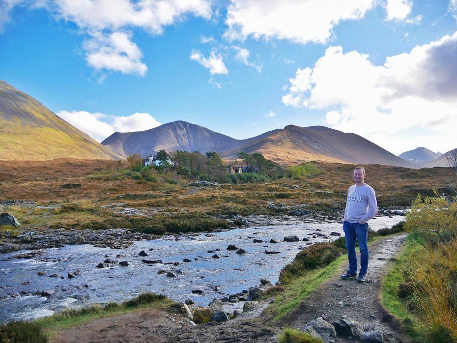 Betoverend Schots landschap