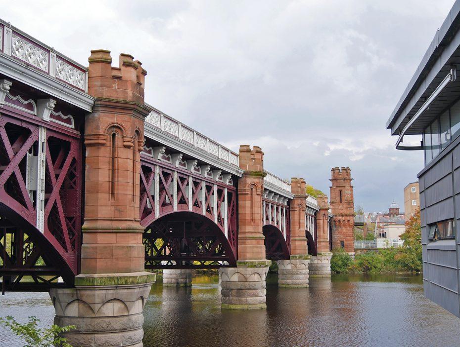 Oude brug in Glasgow