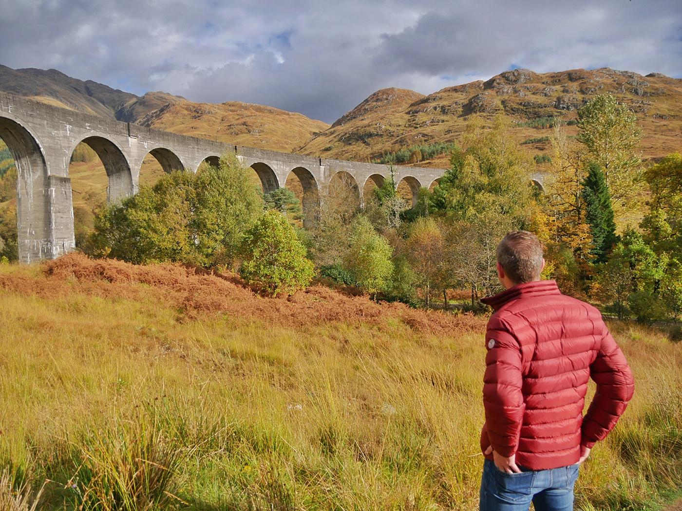 Glennfinnan Viaduct, tijdens mijn roadtrip door Schotland