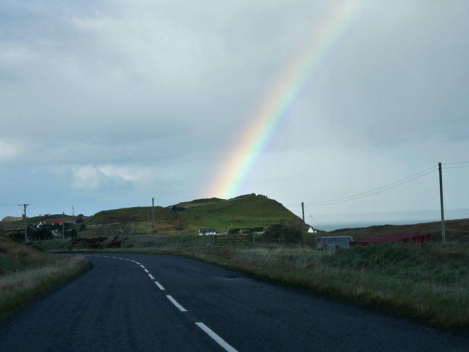 Veel regenbogen gespot tijdens onze roadtrip