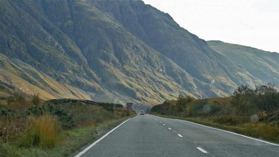Terug richting Edinburgh
