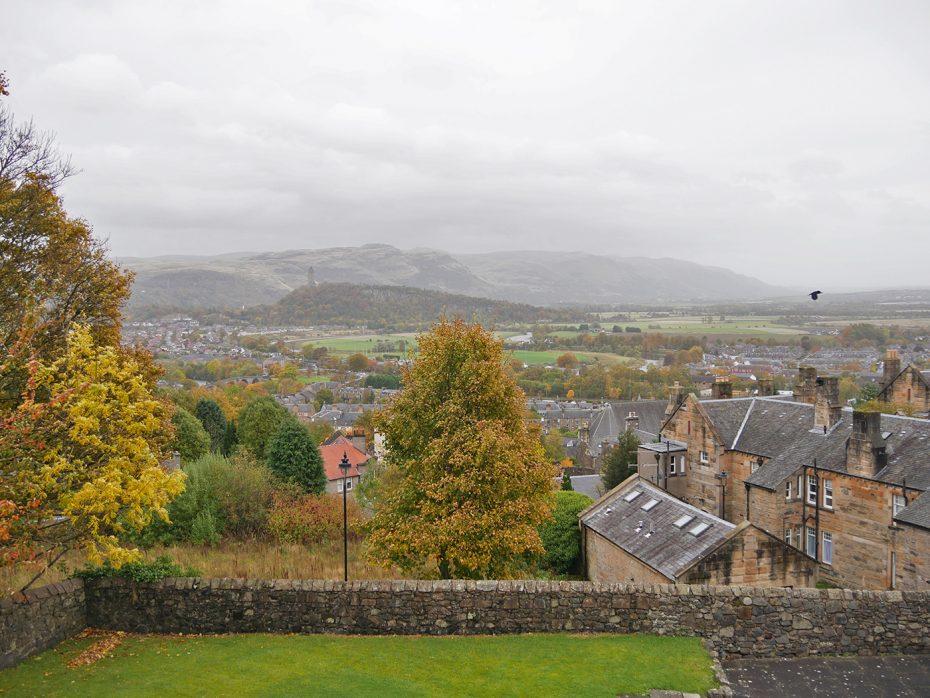 Uitzicht vanaf Stirling Castle