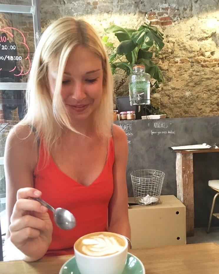 Koffie drinken in Madrid