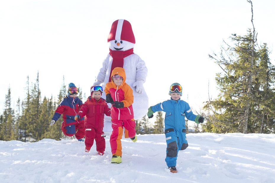 Wintersporten met het hele gezin