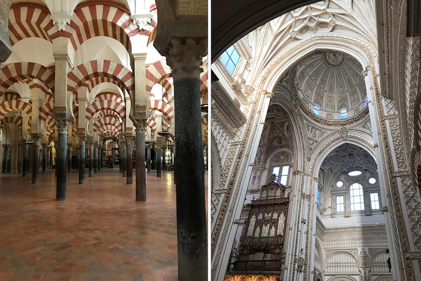 Veel mooie gebouwen in Cordoba zoals Mezquita.