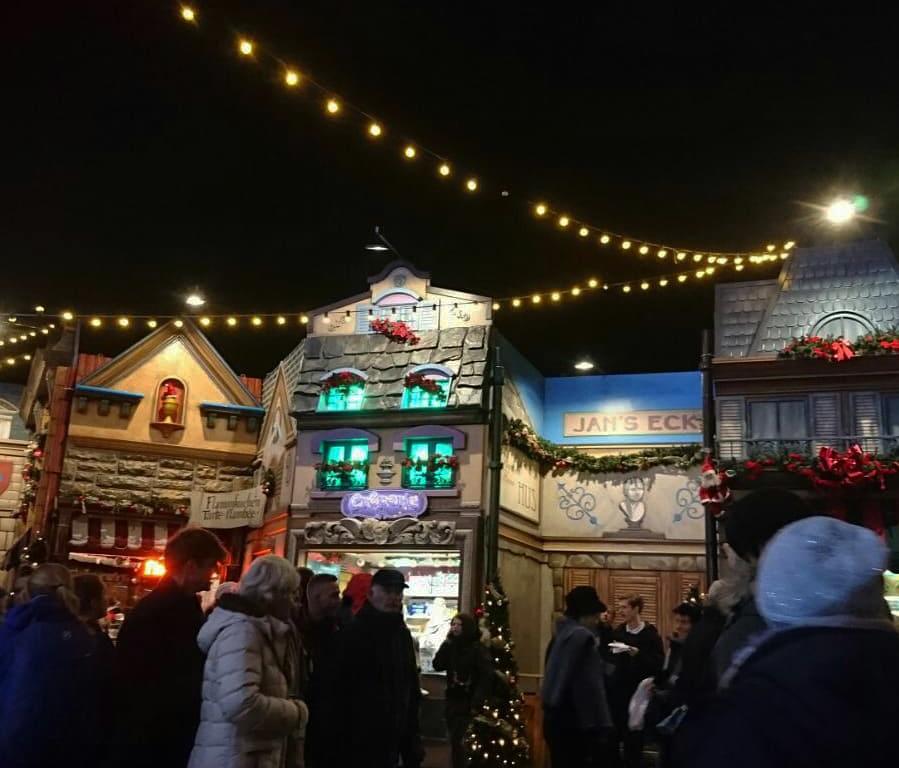 Gezelligheid tijdens de kerstmarkt