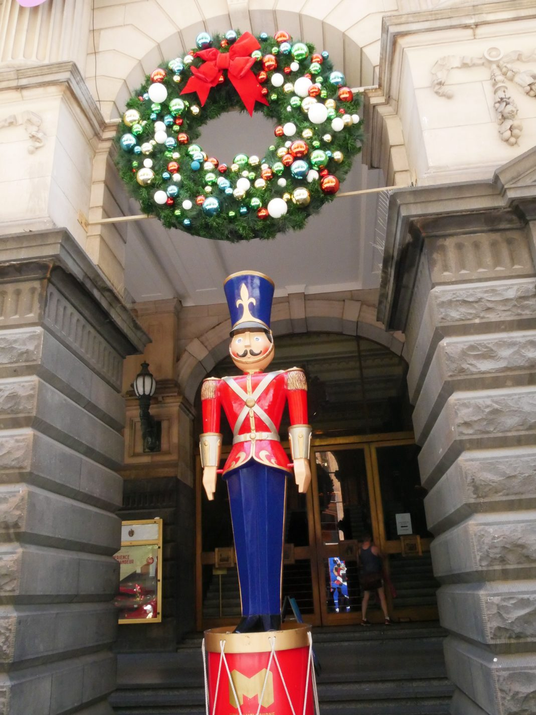 Melbourne in kerstsfeer