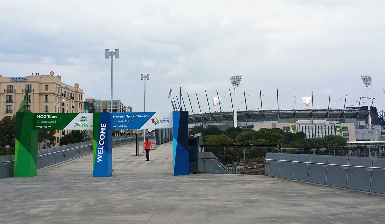 Stadion in Melbourne
